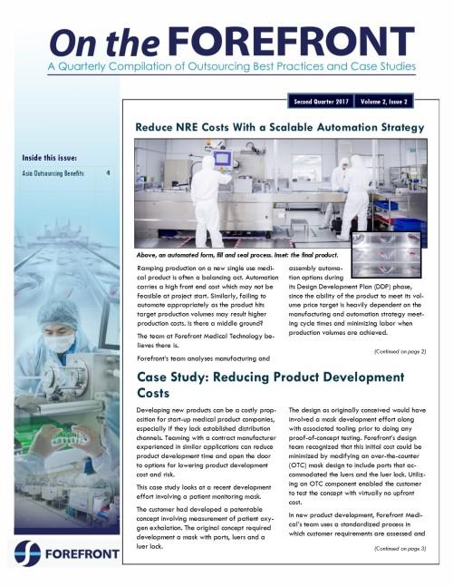 Q2 2017 Forefront newsletter