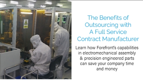 The Benefits of Outsourcing with A Full Service Contract Manufacturer