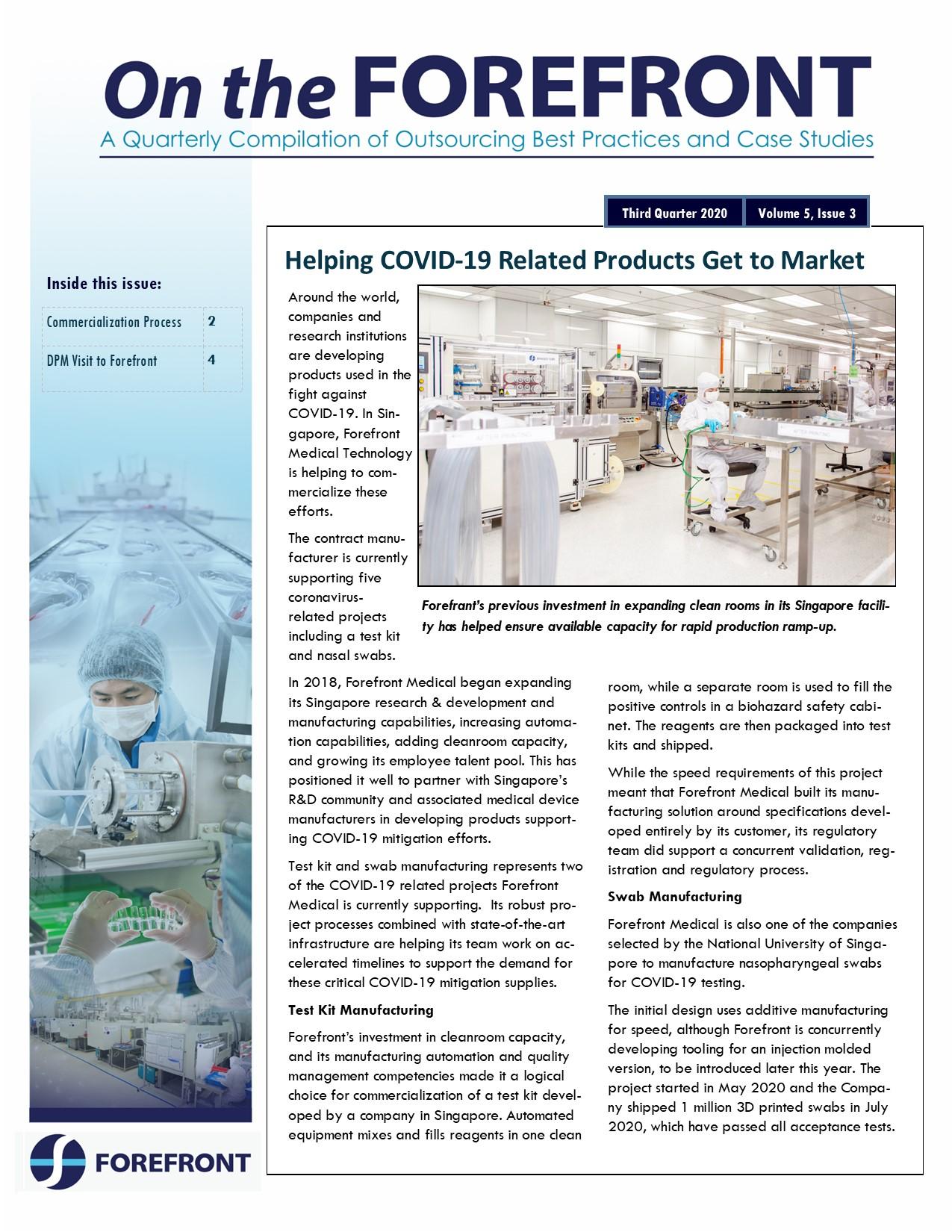 Q3 2020 Forefront newsletter