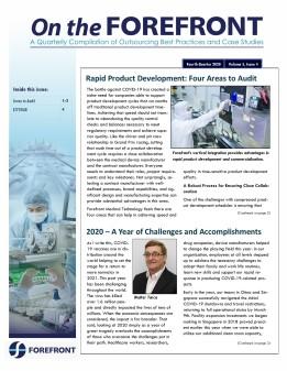 Q4 2020 Forefront newsletter